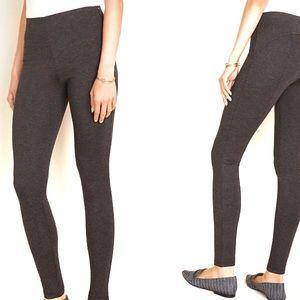 Ann Taylor Seamed Ponte Side Zip Legging 6 NEW